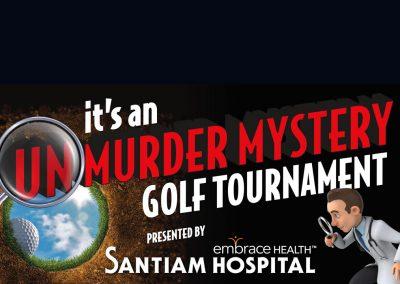 UNMURDER MYSTERY Golf Tournament